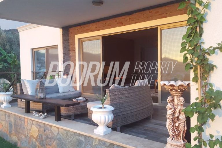 Central Bodrum Villa with Private Garden For Sale