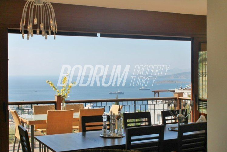 Family Villa with Pool and Bodrum Castle Views